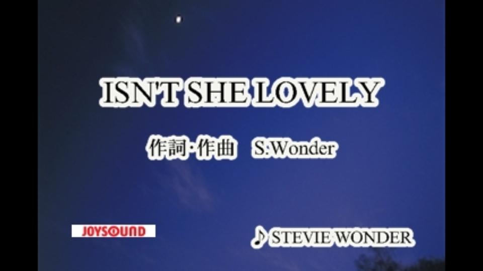 isn t she lovely stevie wonder dtv公式 12万作品が見放題 お試し無料