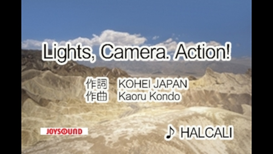 lights camera action halcali dtv公式 12万作品が見放題 お試し無料