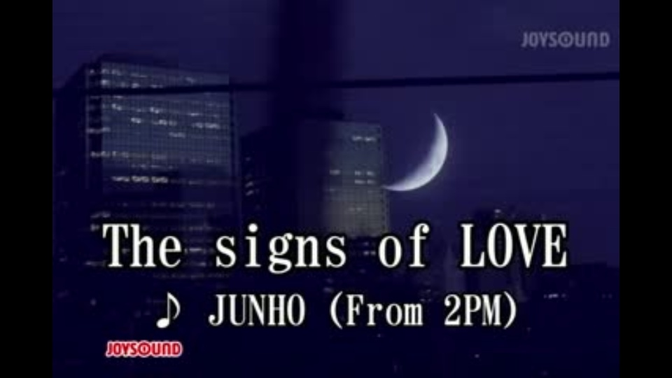 the signs of love junho from 2pm dtv公式 12万作品が見放題 お試し