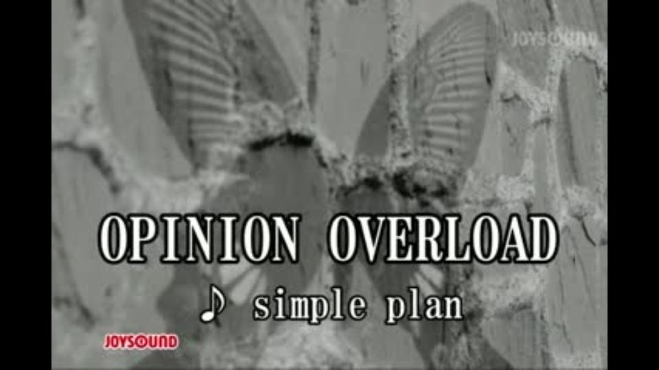 OPINION OVERLOAD シンプル・プ...