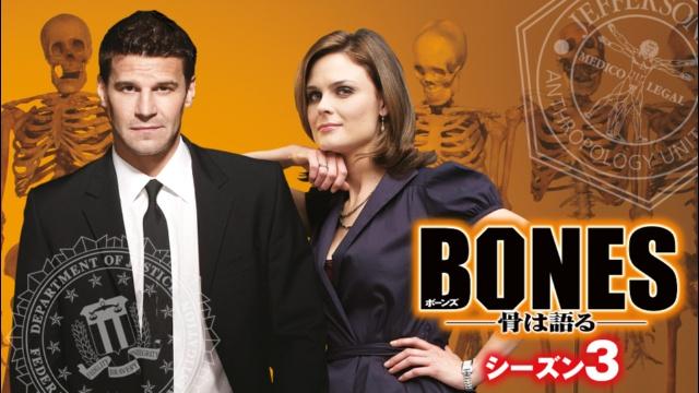 【ディズニー 映画 一覧】BONES – 骨は語る – シーズン3