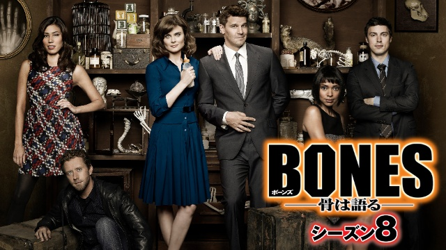【ディズニー 映画 一覧】BONES – 骨は語る – シーズン8