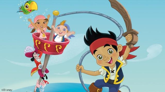 【ディズニー 映画 一覧】キャプテン・ジェイクとネバーランドのかいぞくたち/ネバーランドのうみをまもれ!