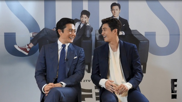 【海外 ドラマ 無料】韓国版「SUITS」チャン・ドンゴン&パク・ヒョンシク インタビュー/E! VIP K STAR INTERVIEW