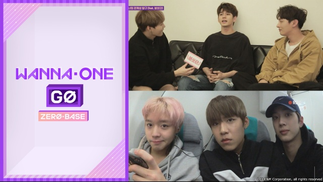 【韓国 映画】Wanna One Go : ZERO BASE