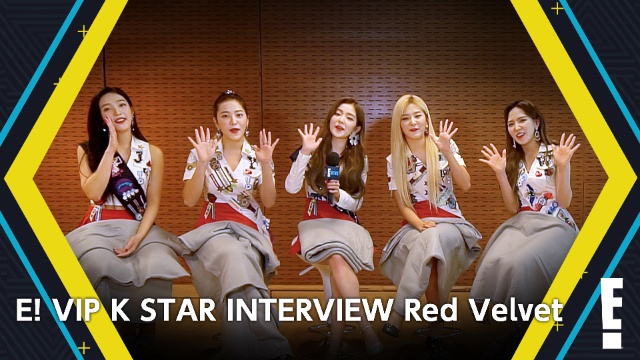 【海外 ドラマ 無料】E! VIP K STAR INTERVIEW Red Velvet