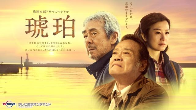 浅田次郎ドラマスペシャル 琥珀 テレビ東京オンデマンドを見逃した人必見!動画見放題サイトをまとめました。