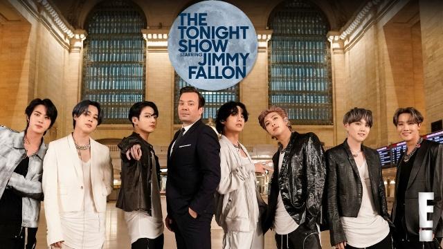 【海外 ドラマ 無料】BTS特別編ザ・トゥナイトショー
